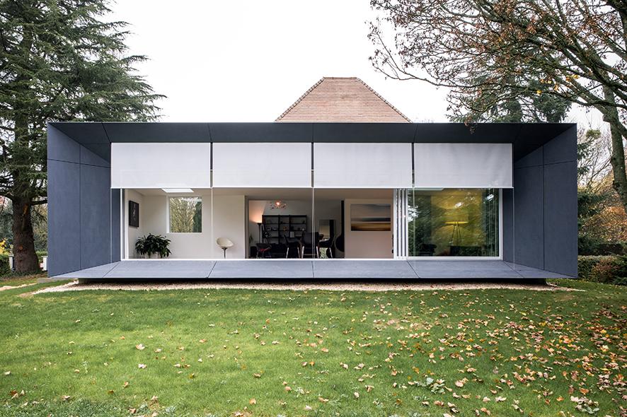 maison le champ de la pierre coulaines caue de la sarthe. Black Bedroom Furniture Sets. Home Design Ideas